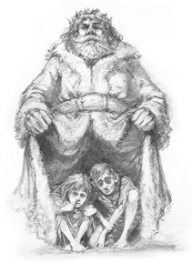 a christmas carol ignorance and want extract analysis